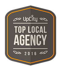top local marketing agency award badge